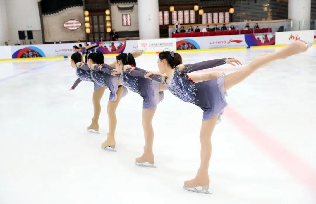 上海市民运动会首次滑冰总决赛在