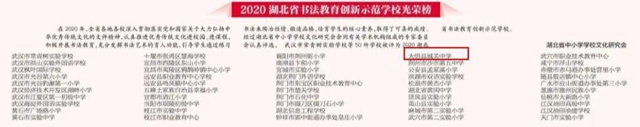 尖利了!2020湖北省学校文化建立百强校宣布,孝感这些学校入选!