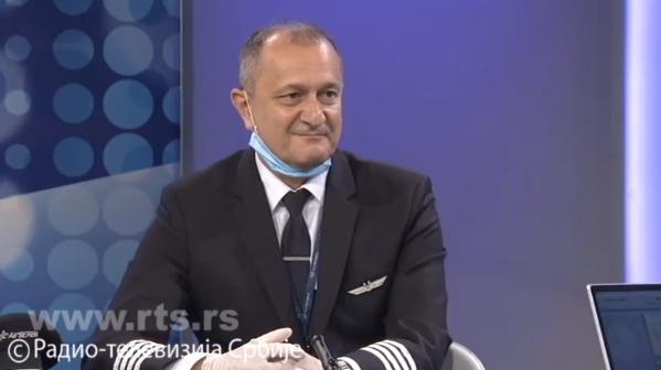 3月30日,弗拉尼奇接受RTS采访