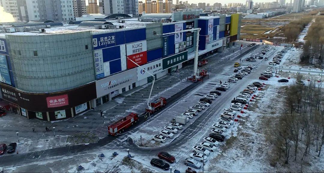 大庆消防:开展大型商业城市综合体实战拉动演练