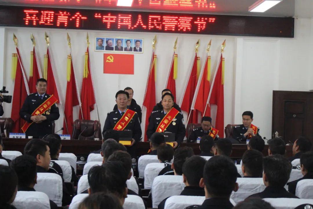 久治县公安局举行首个中国人民警察节日系列活动