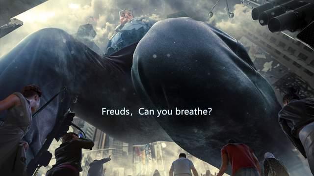《敬呼吸》:Floyds,Can you breathe?弗洛伊德,你能呼吸吗?