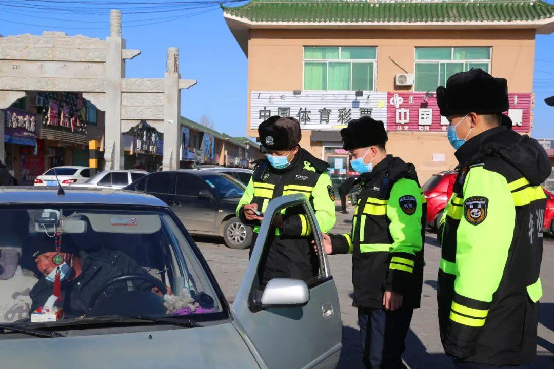 奈曼公安:联合开展打击非法营运专项整治行动