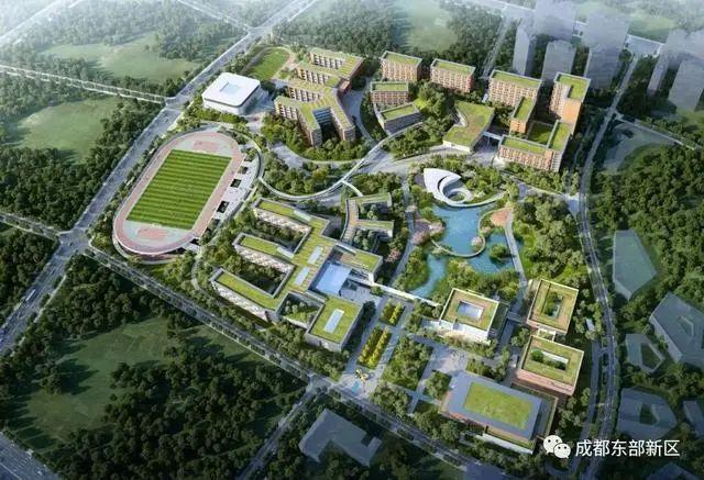 成都七中新校区年成都三本大学内开建!地点在→