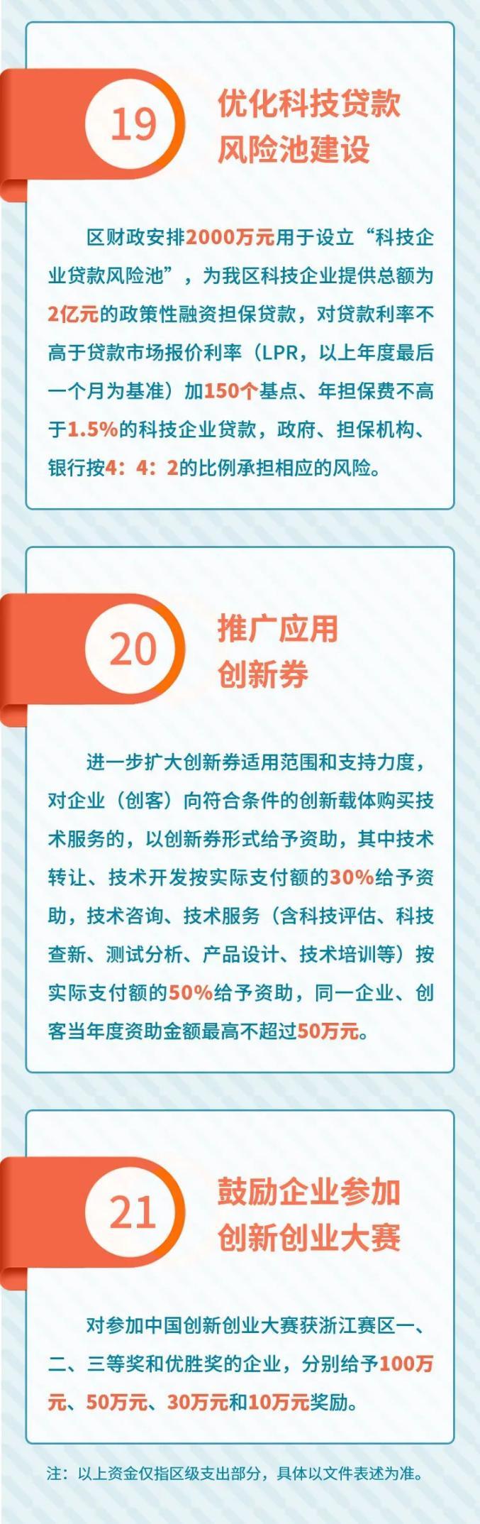 """萧山出台创新发展""""21条""""新政,凝聚科技创新强大动能!送出这些""""福利""""~"""