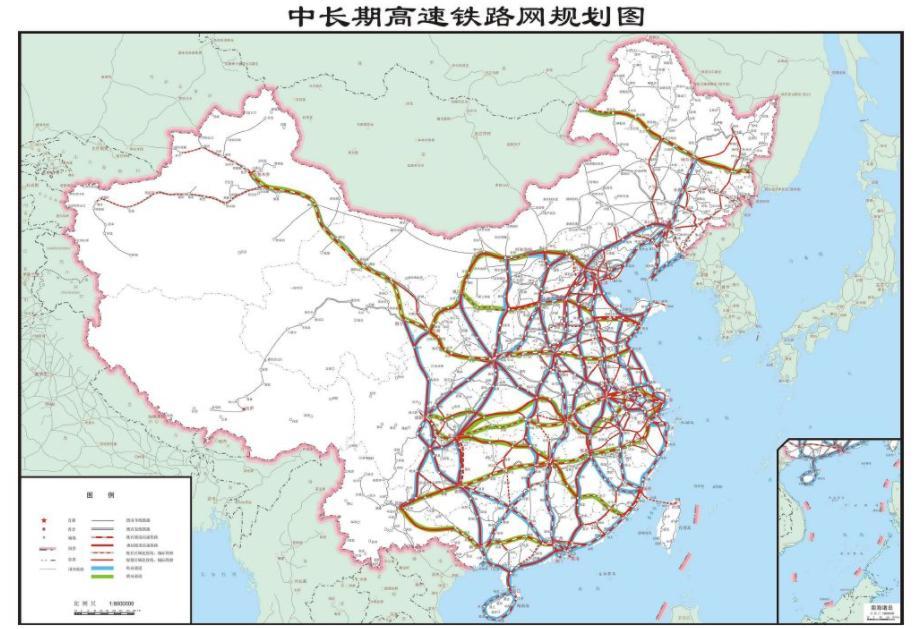 图源:2016年《中长期铁路网规划》