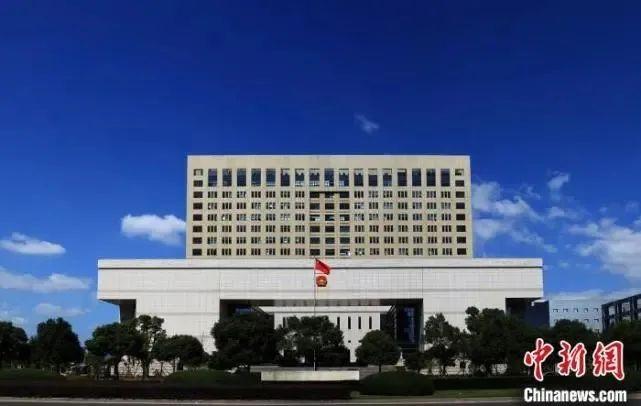 温州市中级人民法院。 唐克龙 摄