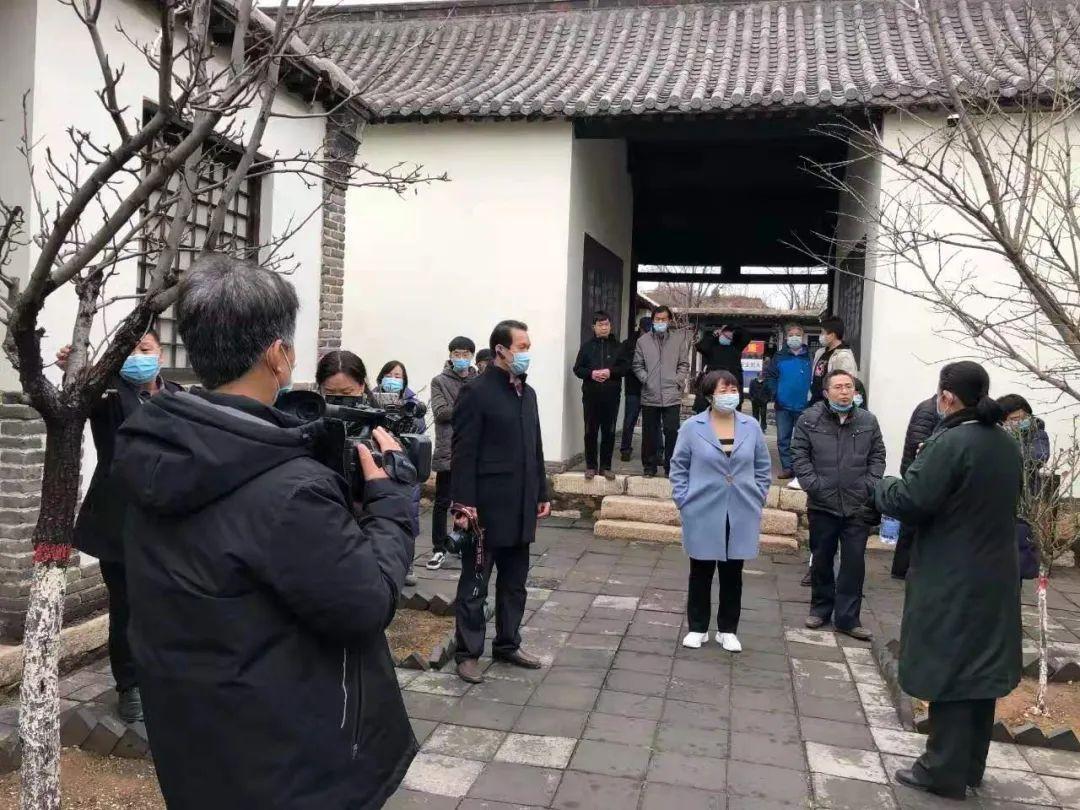 市文联庆祝建党一百周年采风创作活动在北庄村启动(图5)