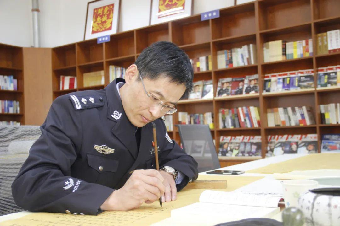 【警营文艺人】尚安:警营书法家