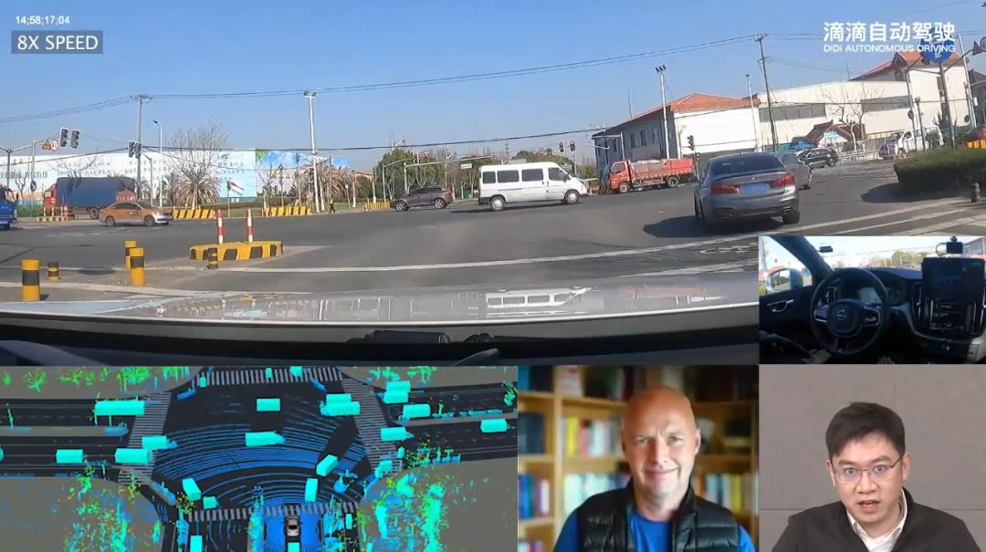 无人车自动驾驶汽车会减速保证安全通行 无人车 第2张