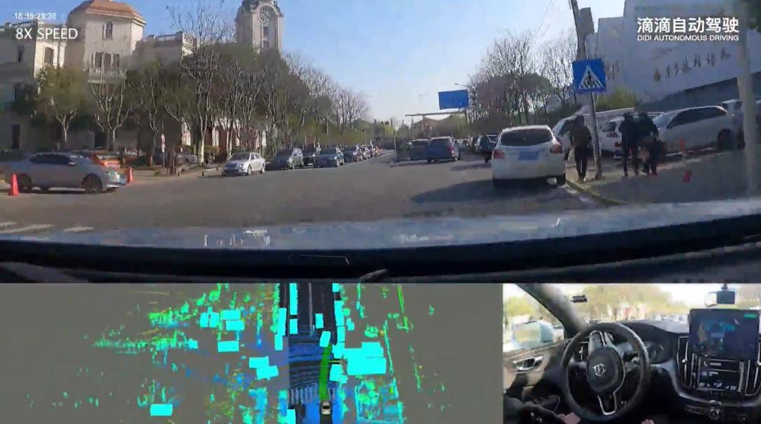 无人车自动驾驶汽车会减速保证安全通行 无人车 第5张