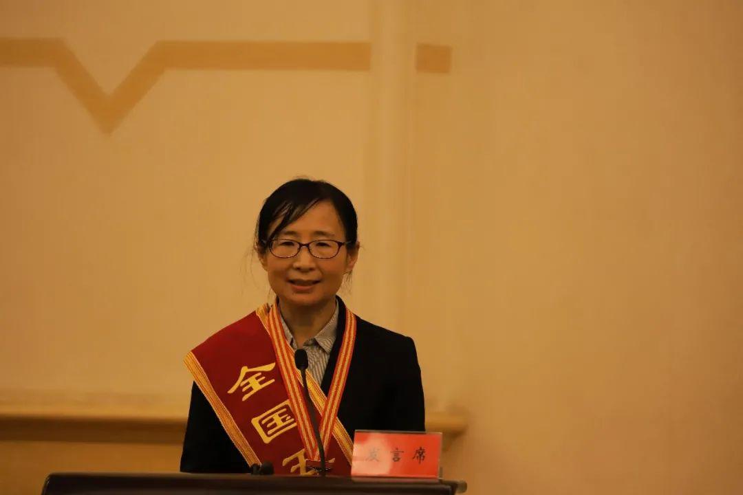 ▲中国科学院近代物理研究所材料研究中心主任刘杰在会上发言