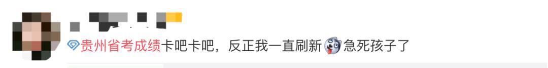 网页已恢复!贵州广东法商专修学院省考成绩可以查询了