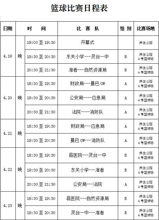 """""""五·一""""职工运动会篮球赛程出炉!_政务_澎湃新闻-The Paper"""