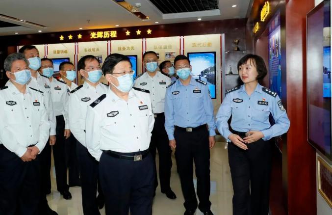 公安部部长对教育整顿提出最新要求_政务_澎湃新闻-The Paper