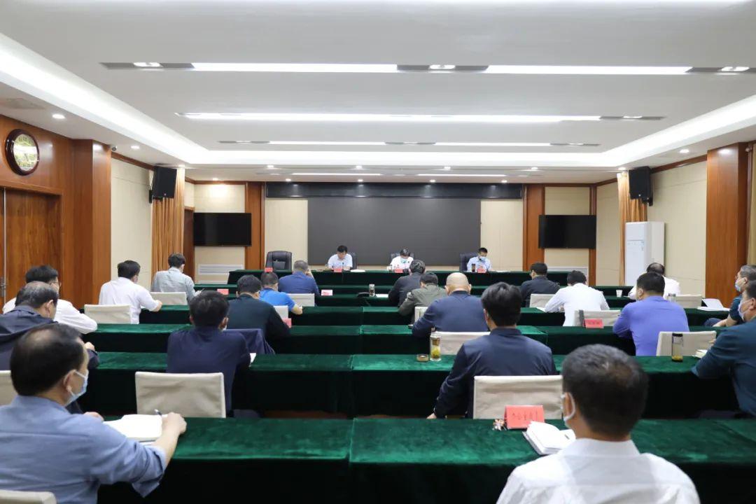 我县召开政法队伍教育整顿领导小组扩大会议暨工作推进会(图1)