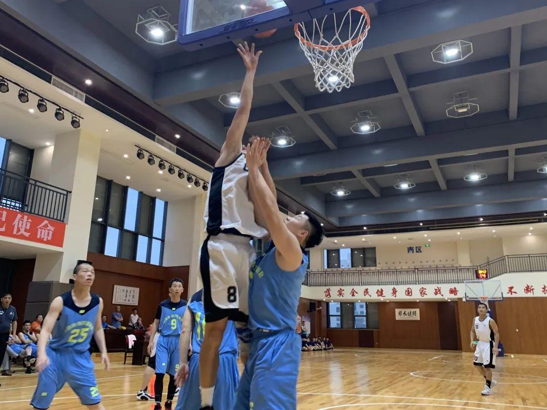 党建聚力强信念 篮球比赛展风采_政务_澎湃新闻-The Paper