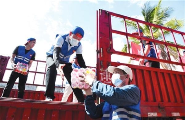 三亚心系河南:一批爱心物资驰援灾区