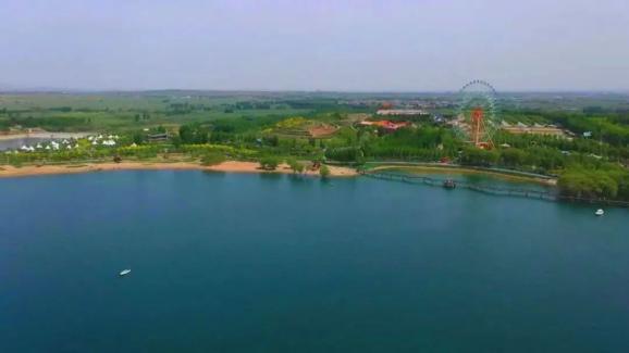 更美了!磁县溢泉湖环湖生态绿廊