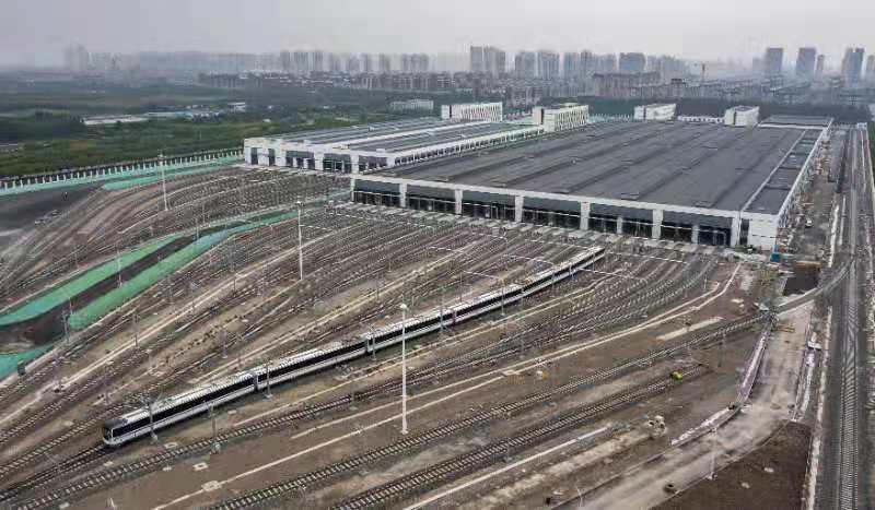 天津首条全自动运行地铁来了,预计年内实现初期运营_媒体_澎湃新闻