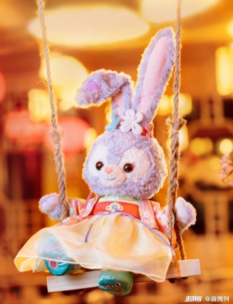 """""""玉兔""""星黛露。/小红书@上海迪士尼度假区"""