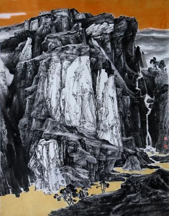 【艺术家园地】画家刘君:墨映山壑彩绘奇绝