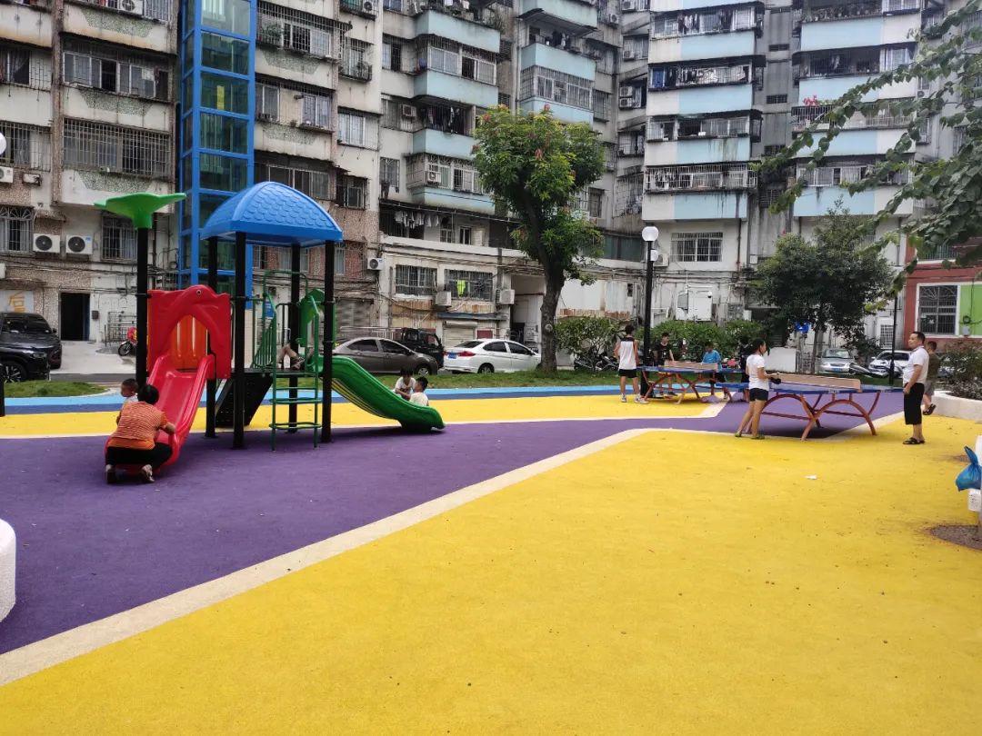 广东烂泥地变靓公园!蓬江又一个社区迎来颜值大提升!