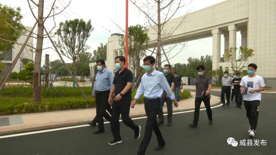 <b>威县县委副书记、县长高凯英到邢台应用技术职业学院调研</b>