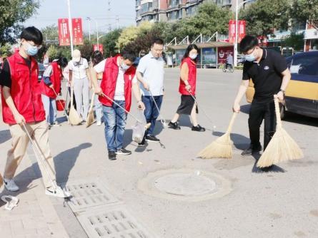 【网络公益】净化城市环境 助力