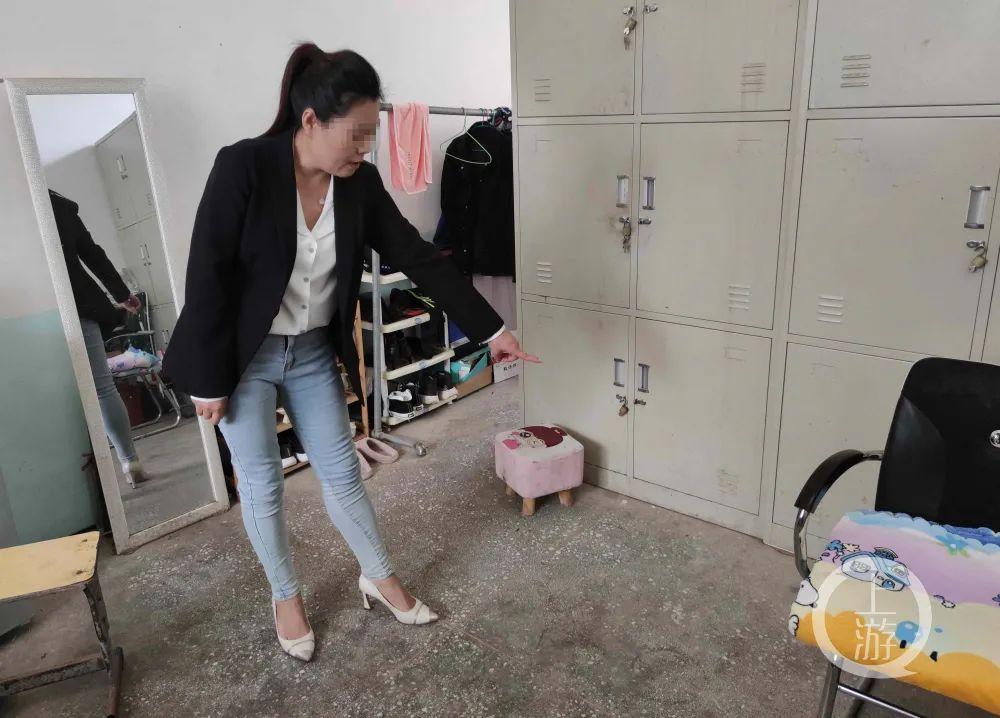 警方认定的打架事件,发生在校长王海峰的宿舍内。/上游新闻记者 沈度