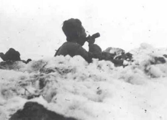战斗中的志愿军(来源:央广军事)