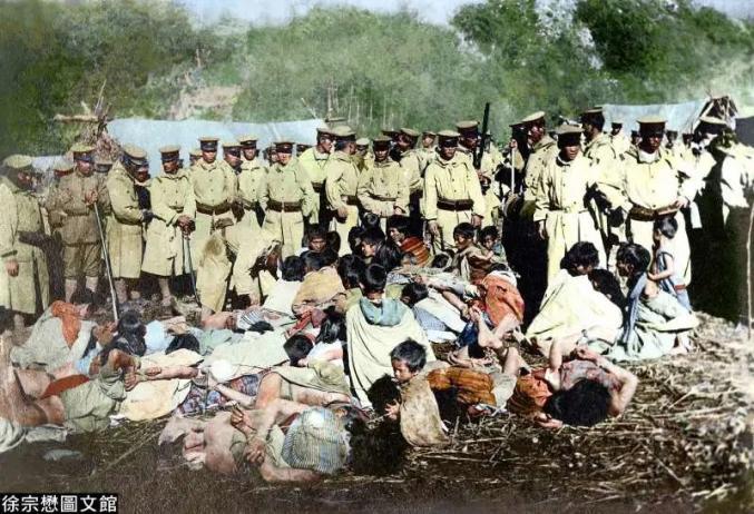 """令人心酸的""""日据""""台湾历史画面(图片来源:""""风传媒"""")"""