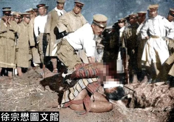 """凶残的日本第一步兵联队军官(图片来源:""""风传媒"""")"""
