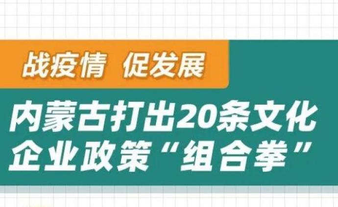 内蒙古发布20条举措为疫情下的文化企业解燃眉之急