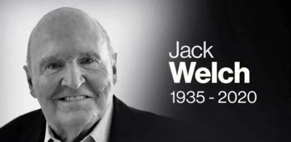 全球第一CEO杰克·韦尔奇逝世,重温他101条经典语录卡鲁加