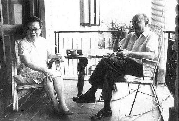 林语堂和妻子廖翠凤