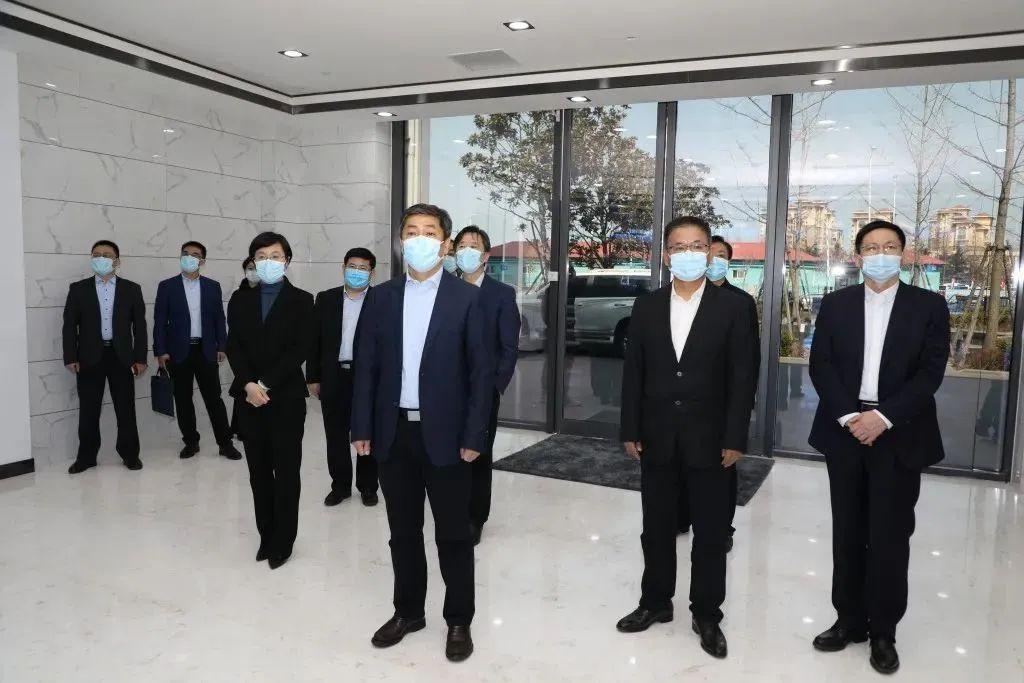 【工作动态】市委常委、组织部部长李伟到崂山