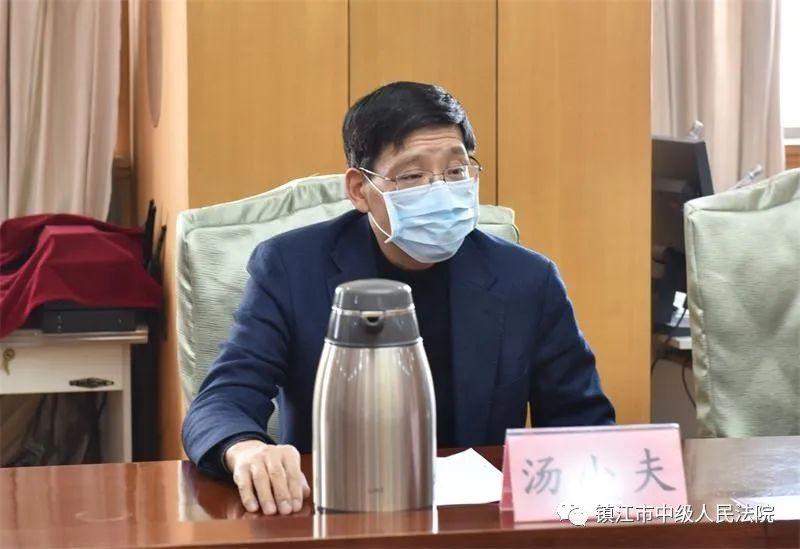 """【工作动态】镇江中院召开2020年市""""两会""""代表"""