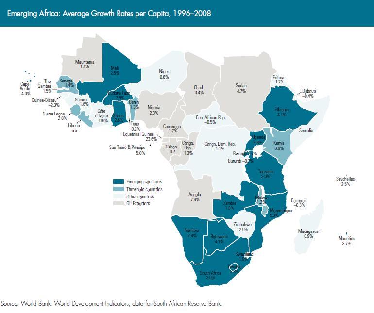 非洲各国gdp_科技巨头争相进入非洲市场 落后大陆走向领先
