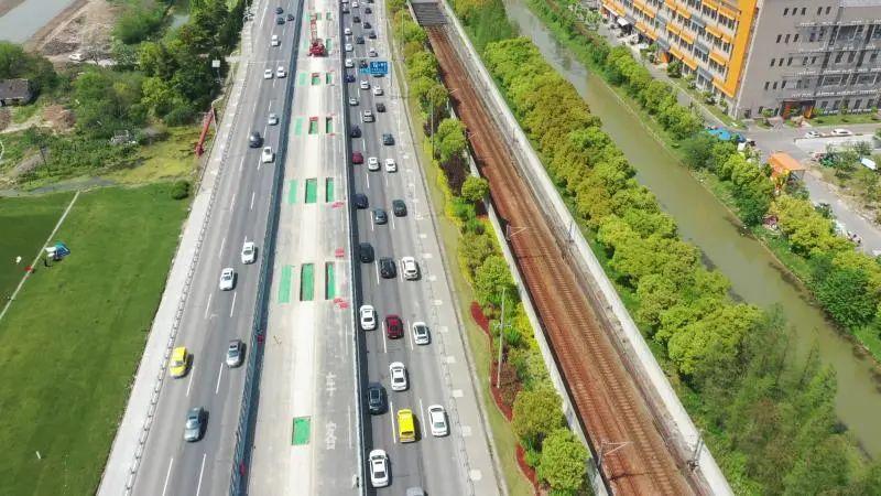 捷安特公路�:`'�/i_现场航拍!浦星公路跨芦恒路节点改造新进展→_政务_澎湃新闻