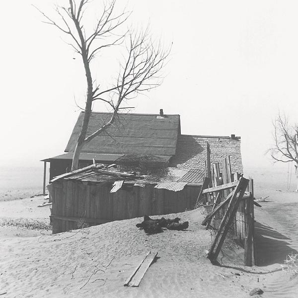 无人之地,亚瑟·罗斯坦因拍摄,美国农业安全署