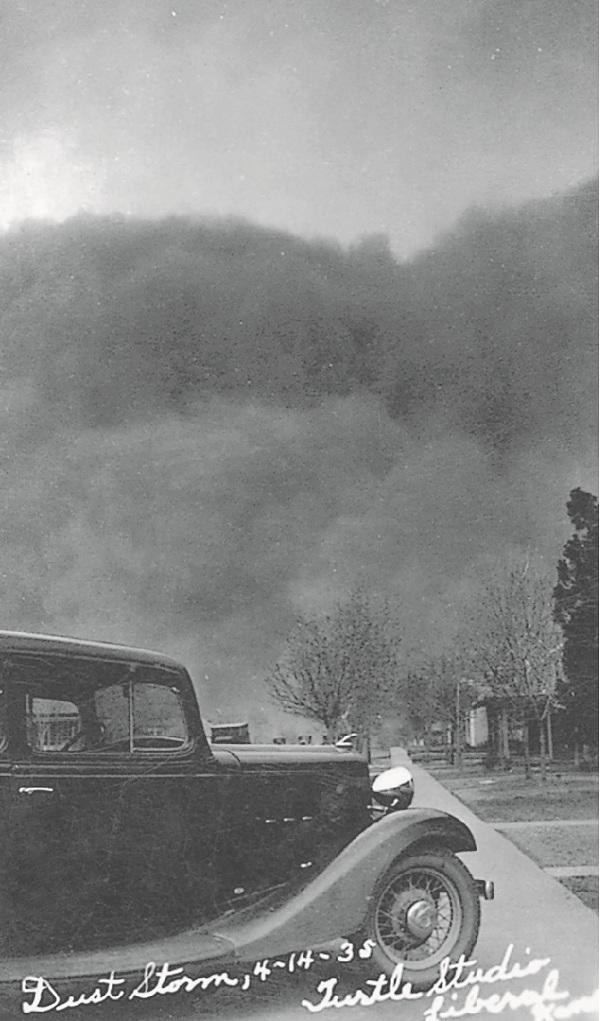 黑色星期天,堪萨斯利伯勒尔,1935年