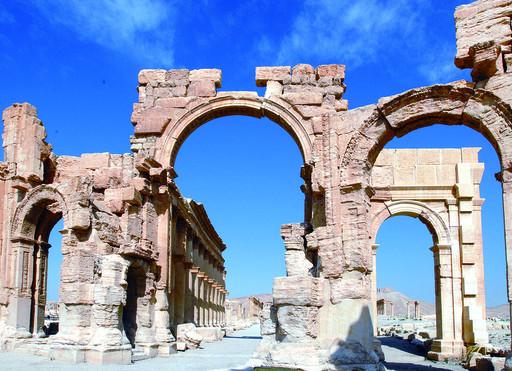 叙利亚帕尔米拉古城