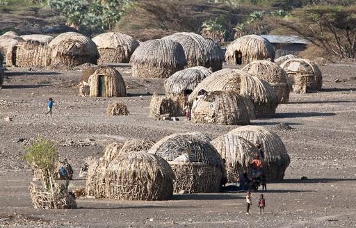 肯尼亚北部的图尔卡纳地区