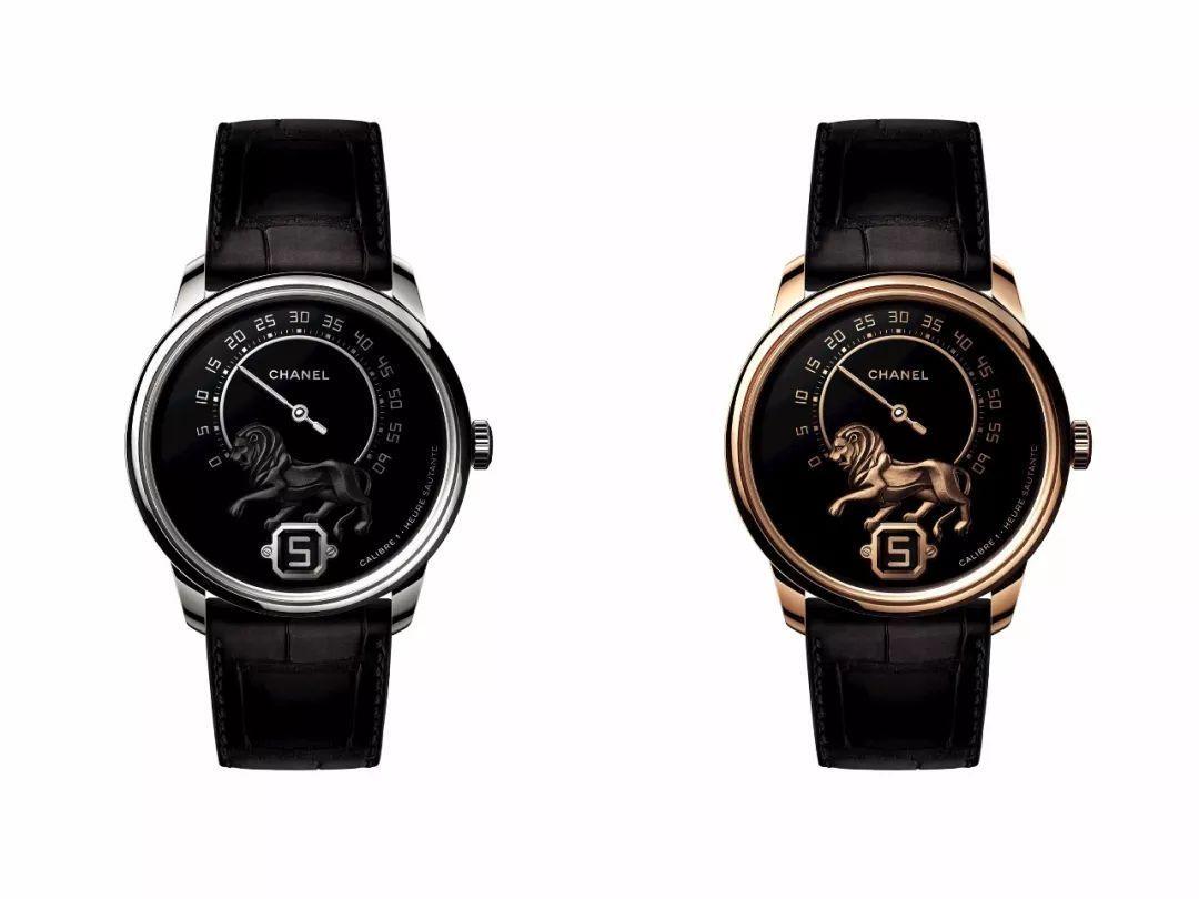 香奈儿还推出了MONSIEUR DE CHANEL腕表,太适合狮子座气质了 图源于网络