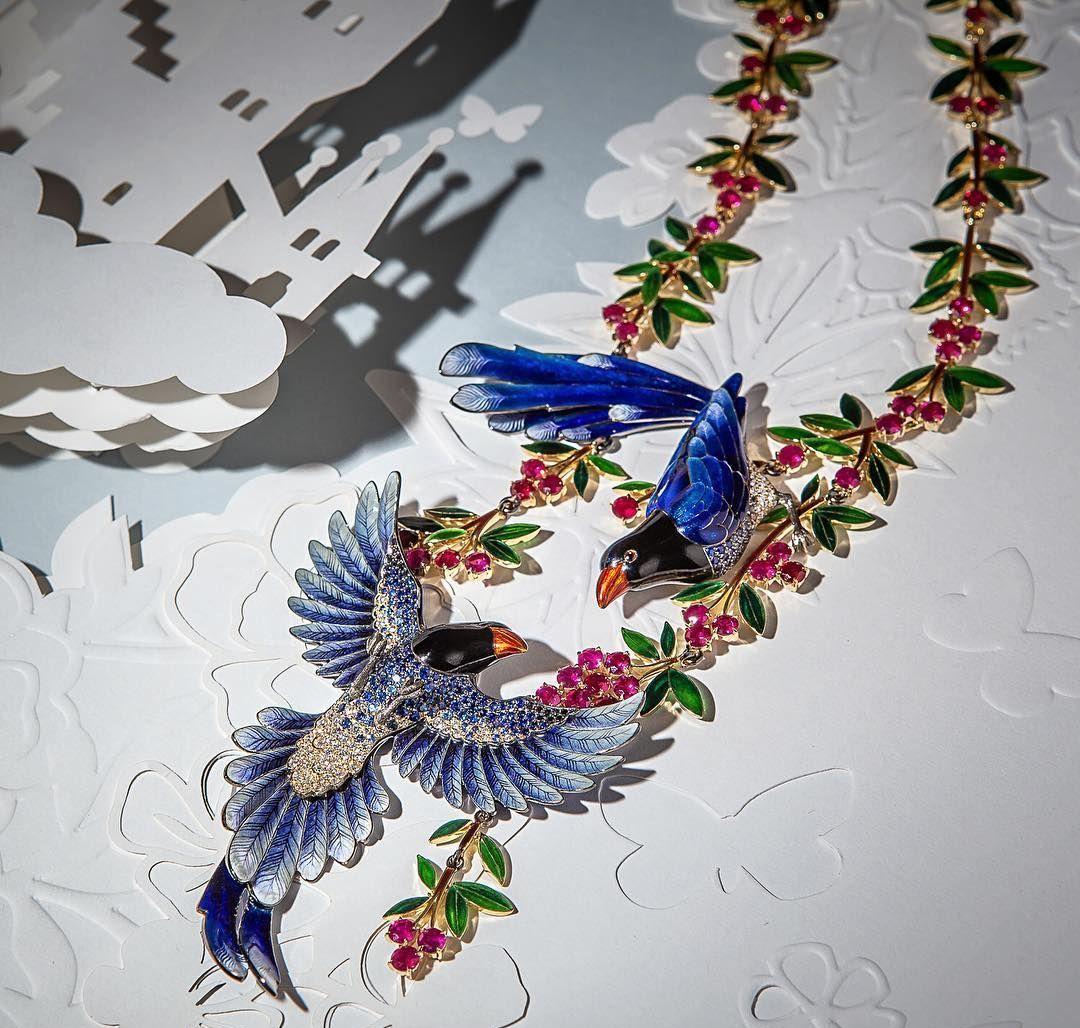 俄罗斯珐琅艺术家Llgiz Fazulzyanov的珠宝首饰 图源于网络