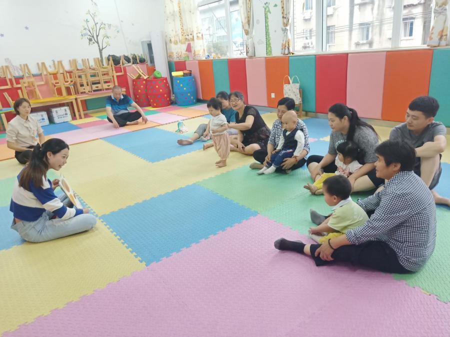 早教进社区亲子乐融融_政务_澎湃新闻-ThePaper