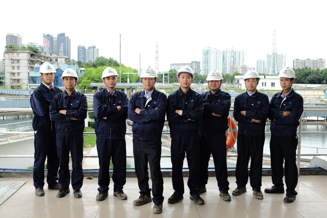 电脑广州水投:净水工匠的维修人生