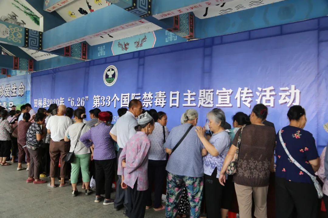 搬迁 公司田林法院积极参与第33个国际禁毒日宣传活动