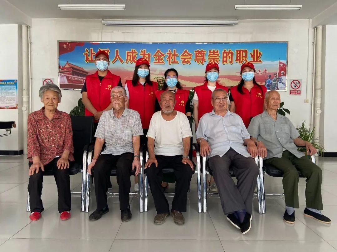 固安县委网信办开展走访慰问老党员志愿服务活动